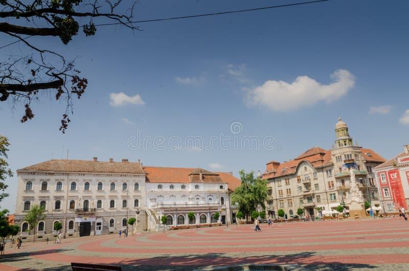Union Square Timisoara royalty free stock photos
