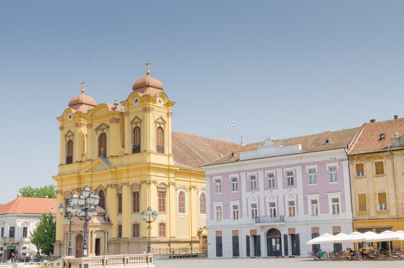 Union Square Timisoara stock photo