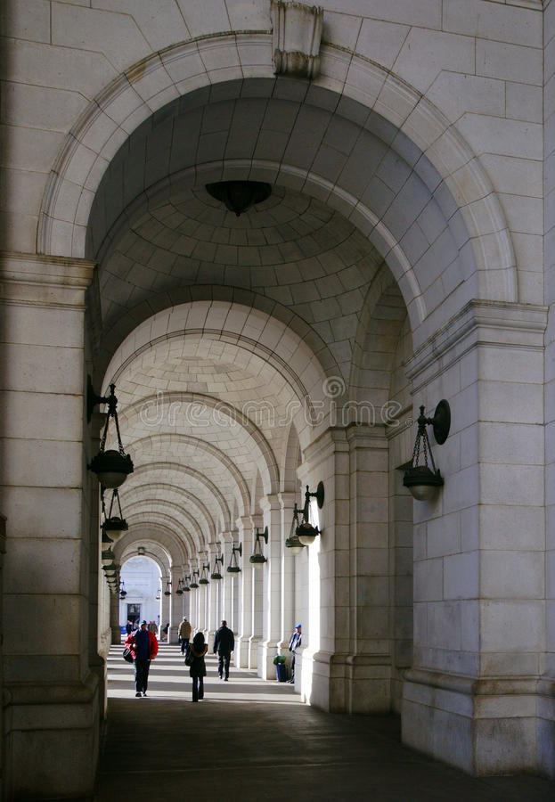 Union Station Arcades Editorial Photography
