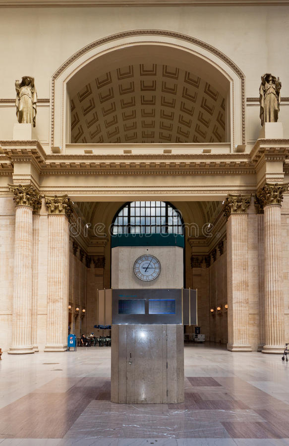 Union Station In Chicago Editorial Stock Image
