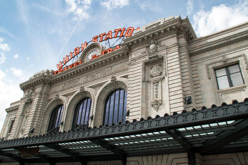 Union Station in Downtown Denver, Colorado royalty free stock photos