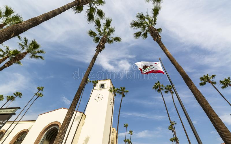 Union Station, Downtown Los Angeles, California royalty free stock photos