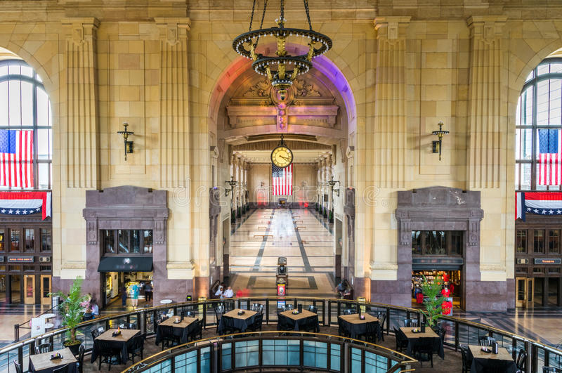 Union Station Grand Hall stock image
