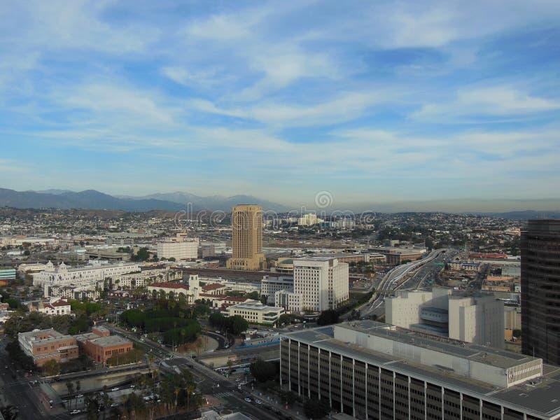 Union Station Los Angeles California stock photo