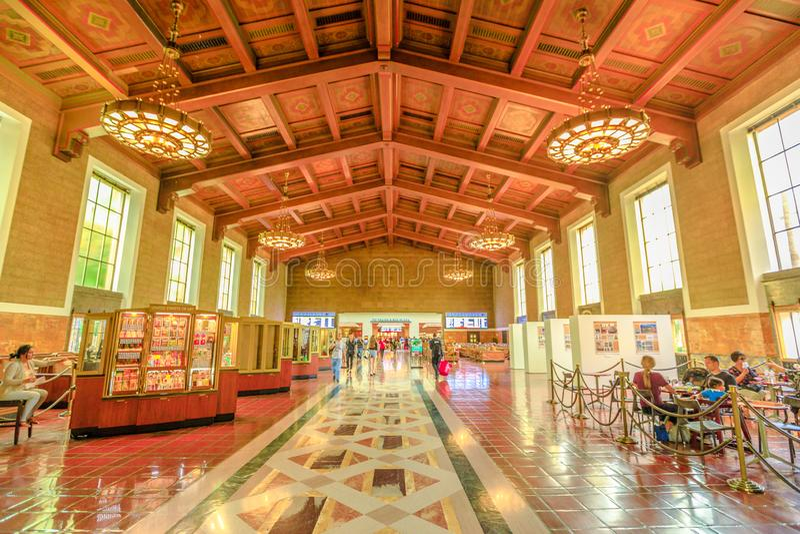 Union Station Los Angeles stock photo