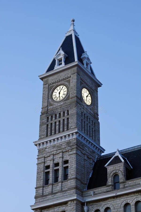 Download Union Station In Louisville Stock Photo - Image of clock, station: 20128314