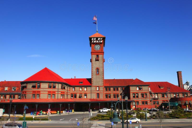 Union station Portland OR. stock photos