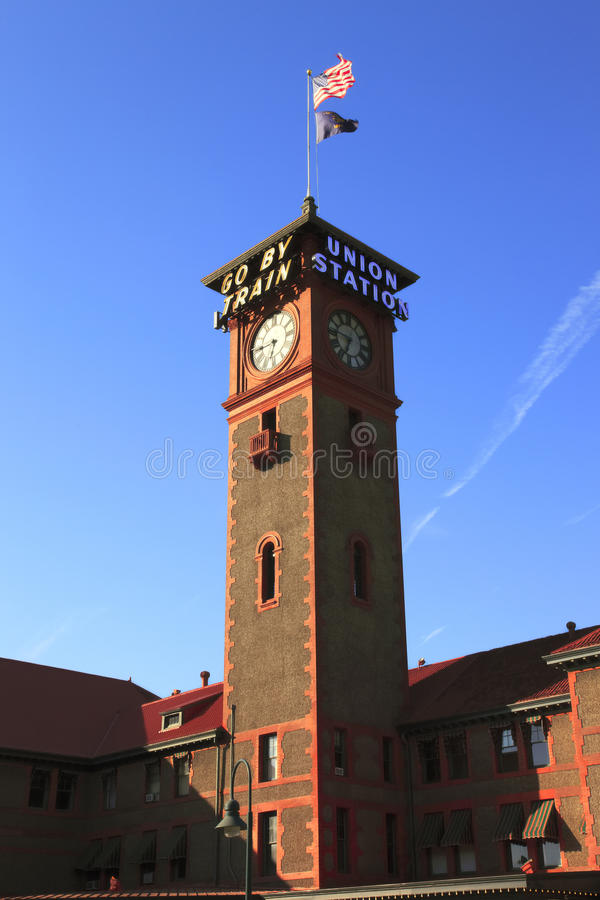 Download Union station Portland OR. stock photo. Image of landmark - 15082412