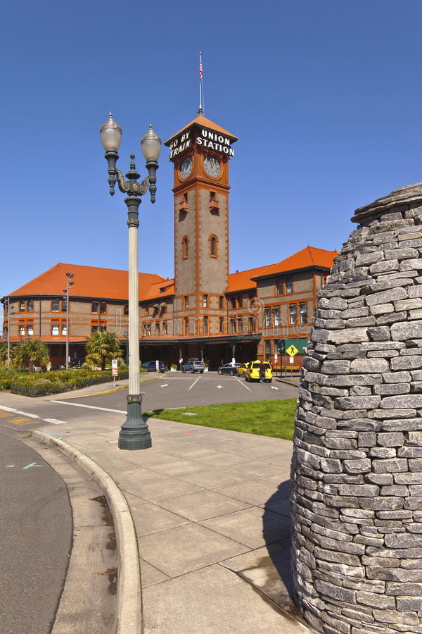 Union Station Portland Oregon. stock image