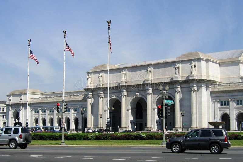 Union Station in Washington, D. C. royalty free stock images