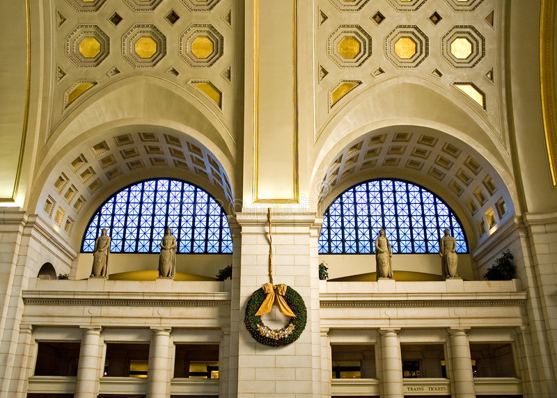 Union Station - Washington DC royalty free stock image