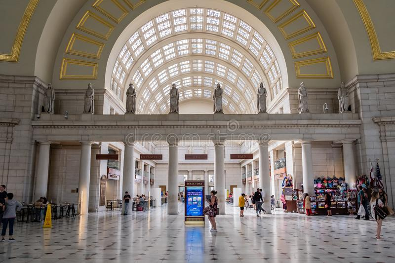 Union Station in Washington, DC royalty free stock photography