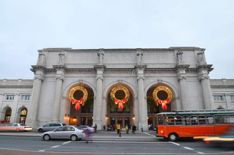 Download Union Station In Washington DC United States Royalty Free Stock Images - Image: 23026469