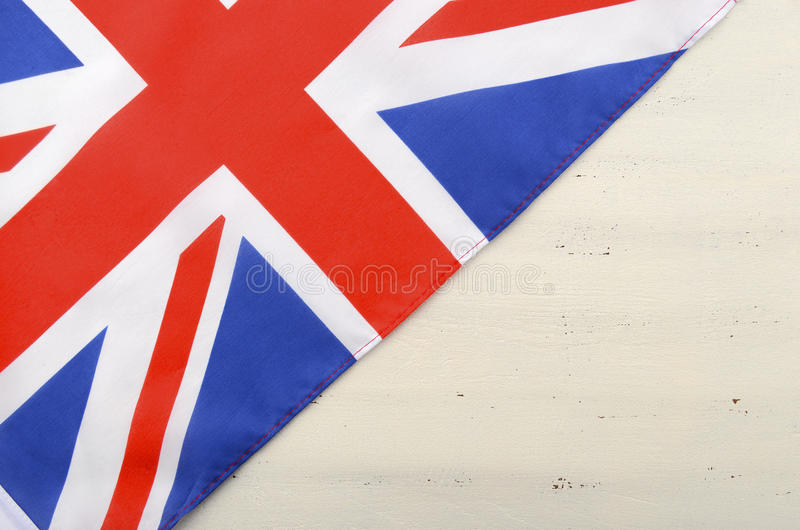 Download Unione Britannica Jack Flag Su Fondo Di Legno Bianco Immagine Stock - Immagine di anniversario, copia: 55352495