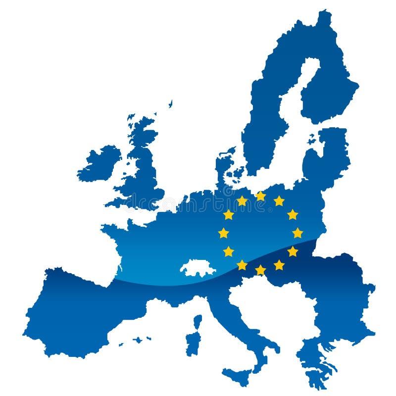 Unione Europea royalty illustrazione gratis