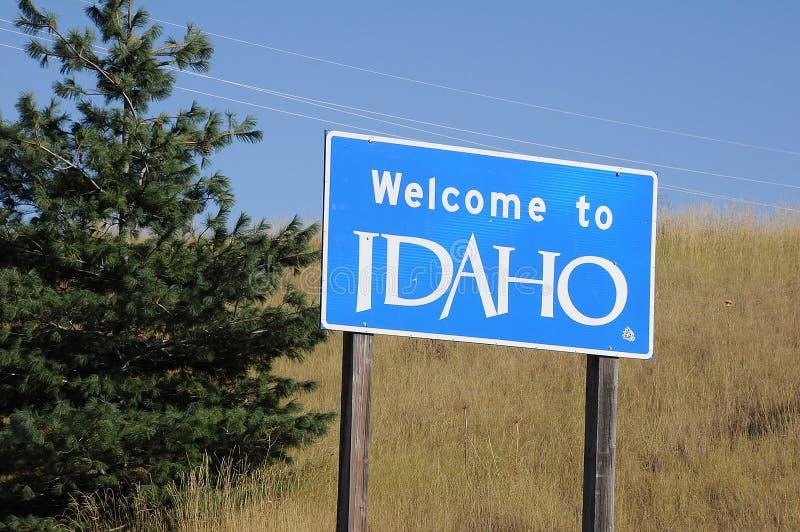 Welcome to idaho united states of america. UNIONTOWN/WASHINGTON /  02 September 2019 /  Welcome to idaho state united states of America . Photo. Francis Dean/ stock images