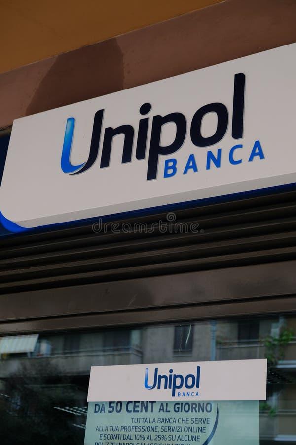Unipol banka gałąź zdjęcie stock