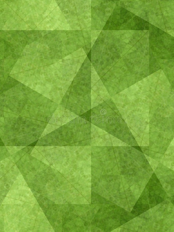 Free Unique Background Green Shapes Royalty Free Stock Photo - 2638185