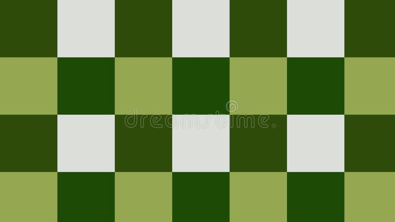 Background checkers of green, dark green, white colors!. Unique, beautiful, lovely, fine, fair background! Photo checkers of green, dark green, white colors vector illustration