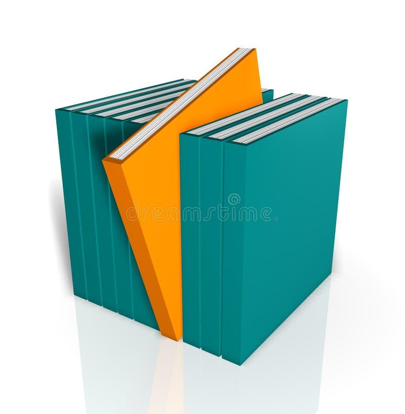Download Unique Book stock illustration. Image of handbook, stand - 4133601
