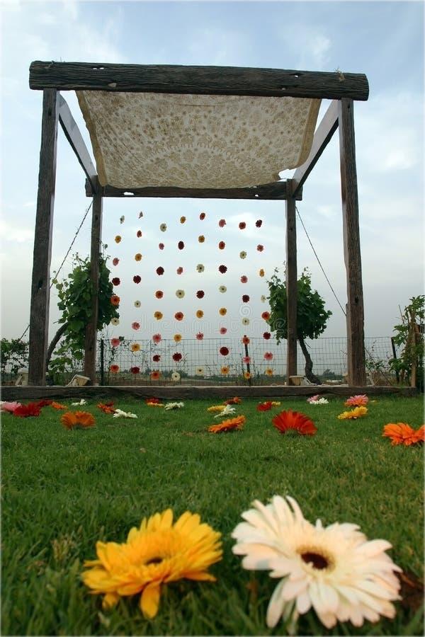 Download Unique Chuppa stock photo. Image of garden, wedding, summer - 1436596