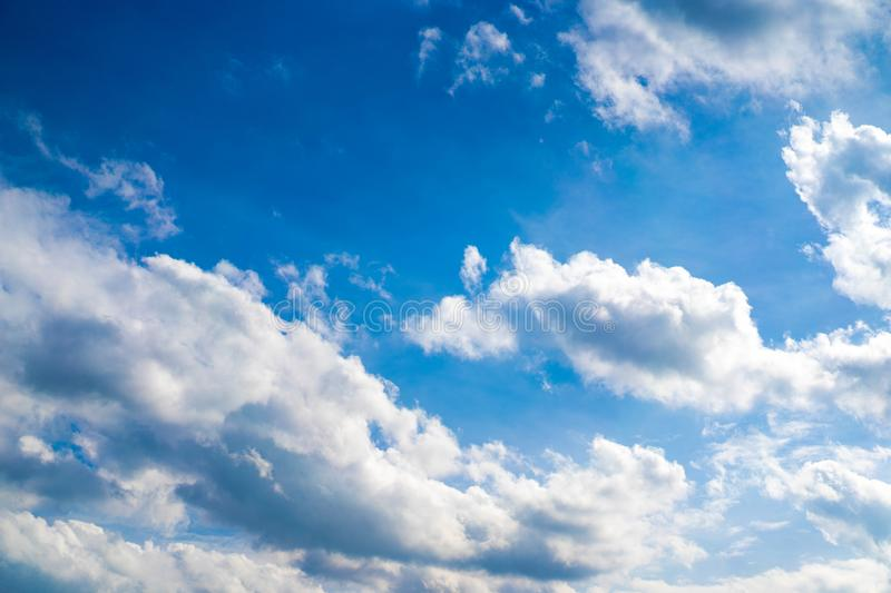 Unique Clouds style on the open sky for background royalty free stock photos