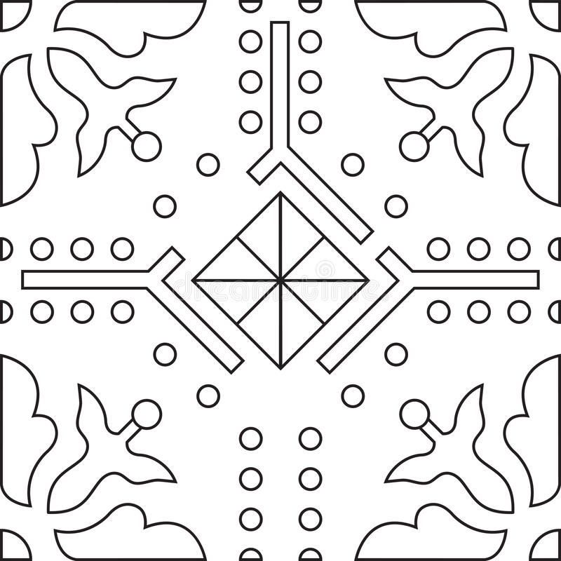 download unique coloring book square page for adults seamless pattern stock vector image - Unique Coloring Books
