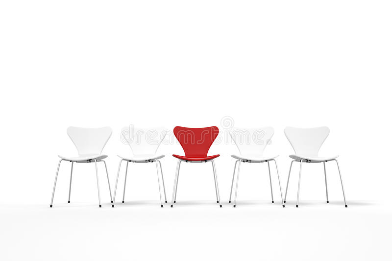 Download Unique Concept With Red And White Stock Photos - Image: 33471203