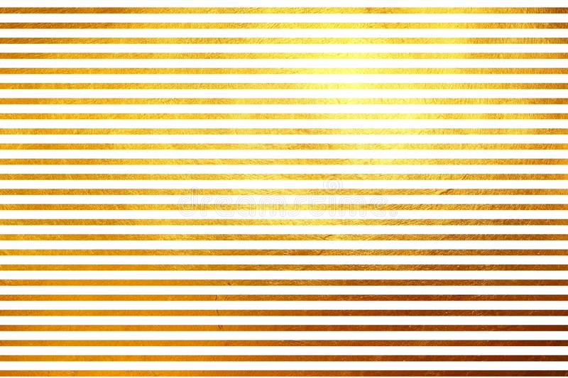 Unique creative unusual modern shinning golden horizontal lines abstract texture pattern background. Design element. Shiny seamless horizontal gold lines dynamic royalty free stock image