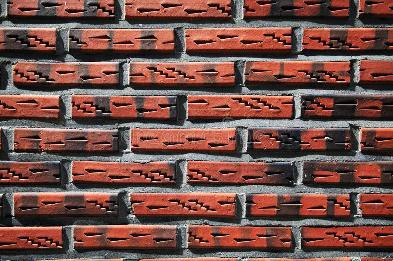 Download Unique Grunge Brick Wall  Background Stock Photo - Image: 12018440