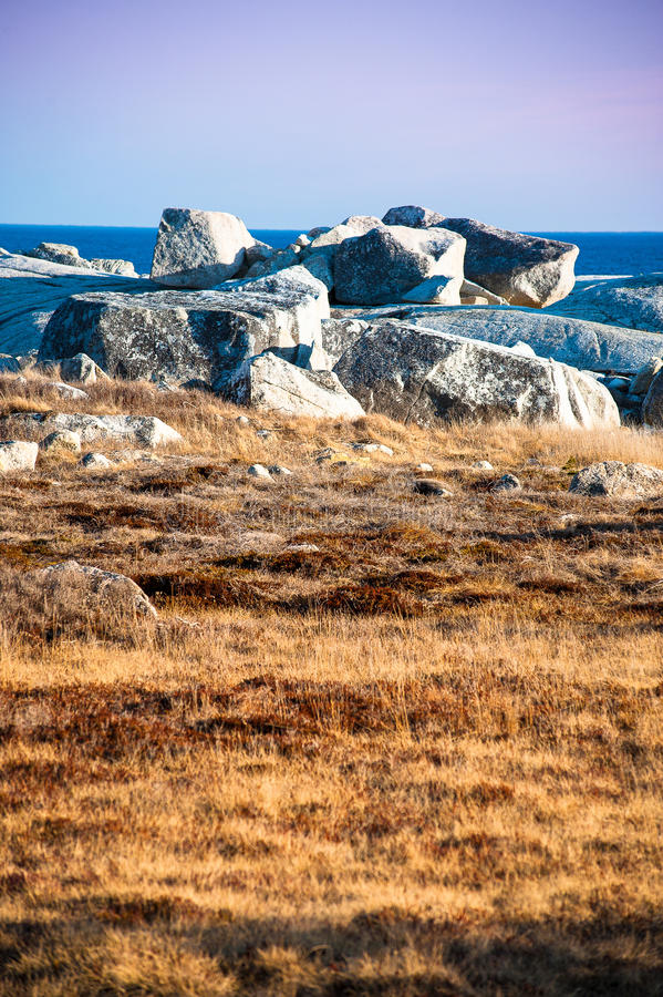 Download Unique Landscape Of Coastal Nova Scotia Stock Image - Image: 24641871