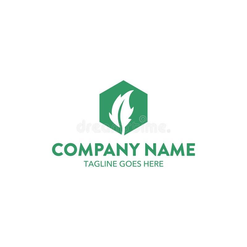 Unique Leaf Logo Template. Vector. Editable Stock Vector ...
