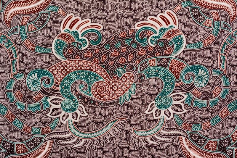 modern batik fabric royalty free stock images
