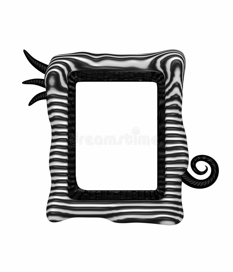 Unique picture frame royalty free stock photography