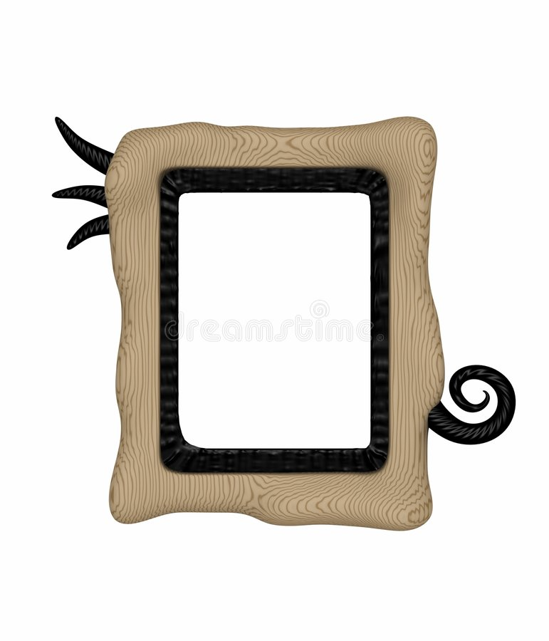Unique picture frame royalty free stock image