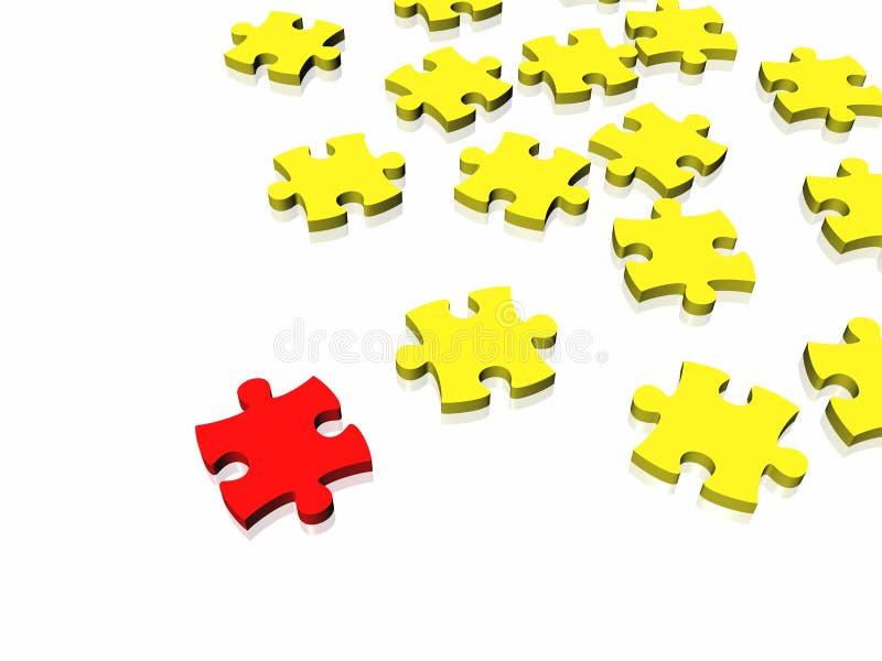 Download Unique Puzzle Conept Stock Image - Image: 7065091