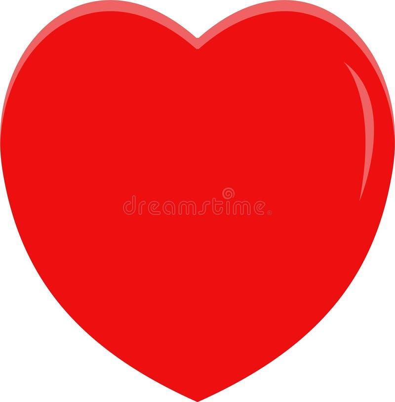 UNIQUE RED LOVE SYMBOOL stock afbeeldingen