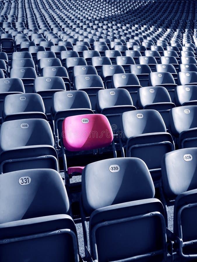 Unique Stadium Seat Stock Photography