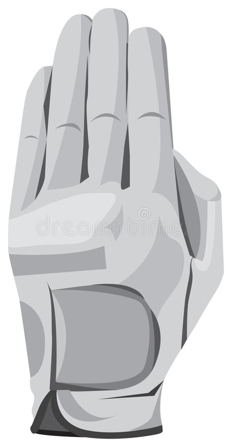 Unique and stylish gloves. Made of strong and durable material vector illustration