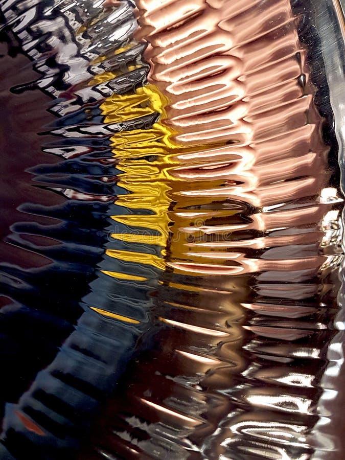 Unique Texture Of A Circular Metallic Abstract Background. An Unique Texture Of A Circular Metallic Abstract Background stock image