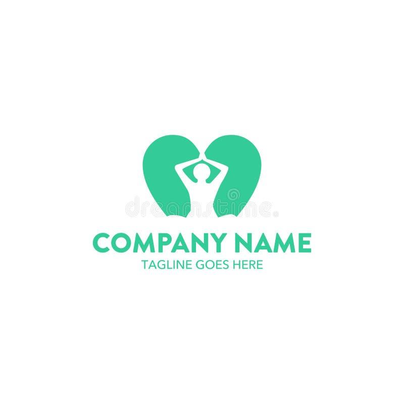 Unique Yoga Logo. Perfect for your company vector illustration
