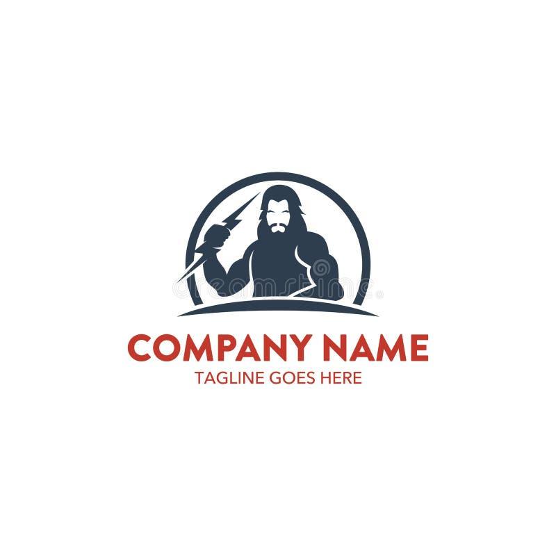 Unique Zeus Logo Template. Vector. Editable Stock Vector ...