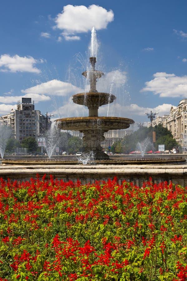Unirii Square - Bucharest royalty free stock photo