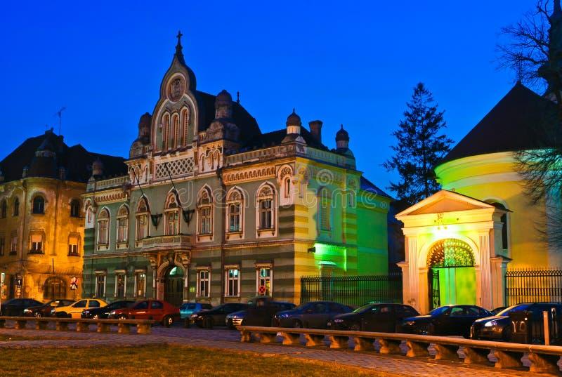 Unirii Square in Timisoara stock photos