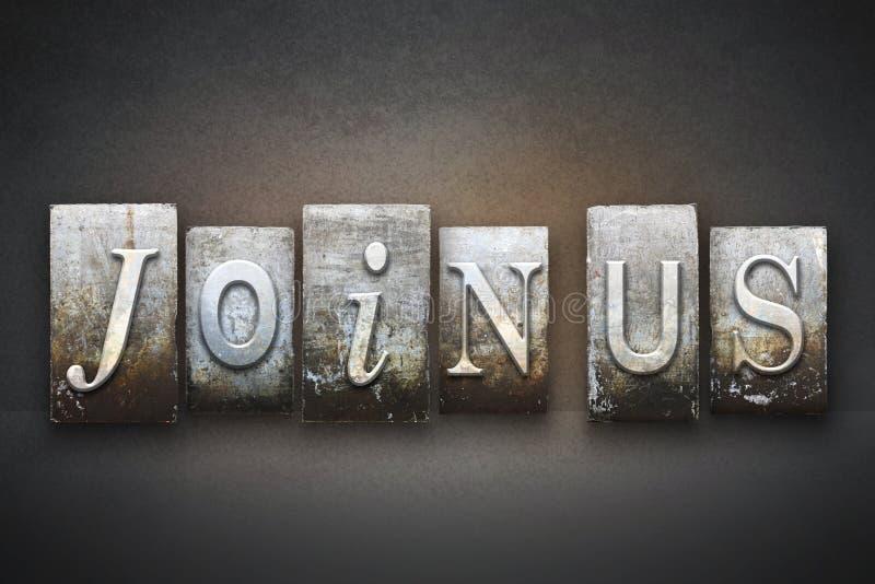 Uniscaci scritto tipografico immagini stock