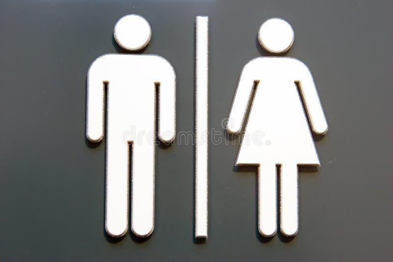 unisex- dörrsymbol vektor illustrationer
