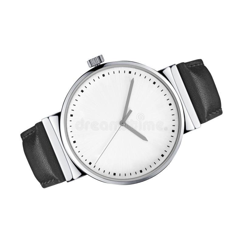 Unisex-horloges op een wit royalty-vrije stock afbeeldingen