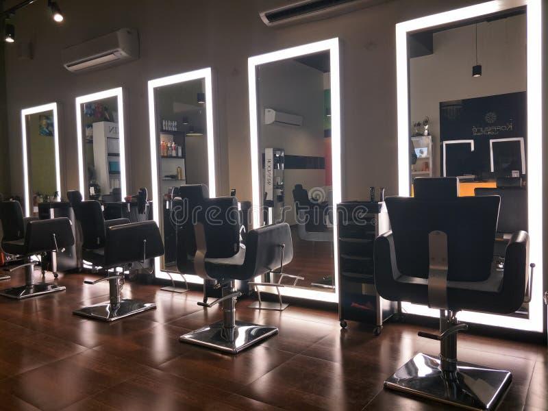 Unisex-salon in India royalty-vrije stock foto's