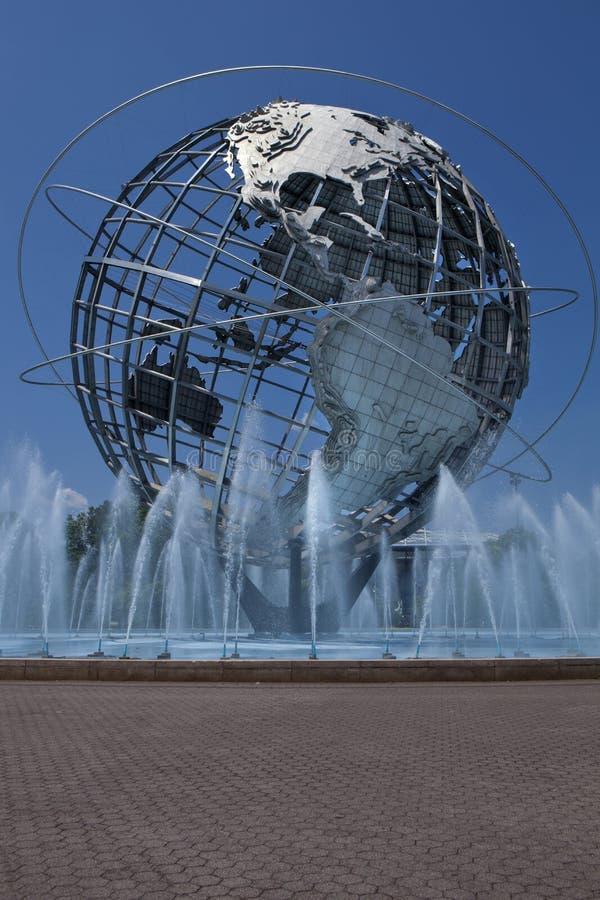 Unisphere in Fushing-Weiden Corona Park, Queens - New York stock afbeeldingen