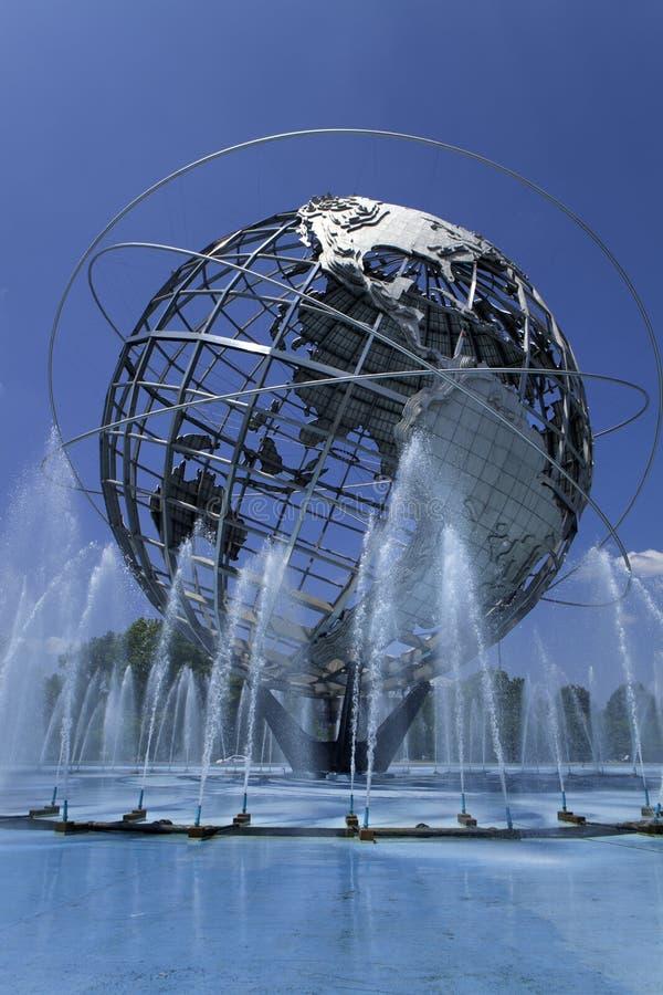 Unisphere in Fushing-Weiden Corona Park, Queens - New York royalty-vrije stock foto
